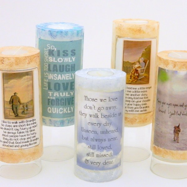 Pillars with poems