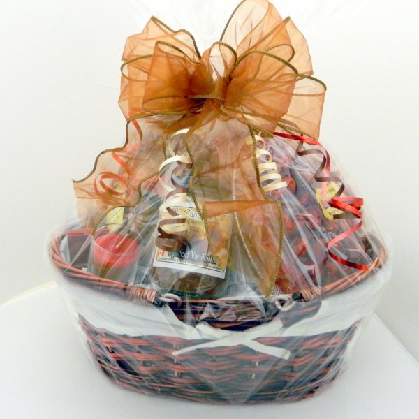 Large Gift Basket Front